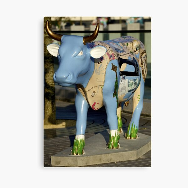 Cow Parade - Shirt Factory Horn, Derry Canvas Print