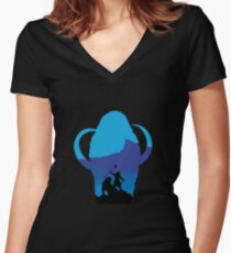 FC #3 Women's Fitted V-Neck T-Shirt