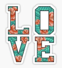 LOVE ROSE  Sticker