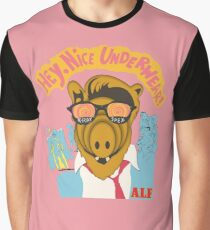 Lord help us, he's back in his pink Alf shirt Graphic T-Shirt