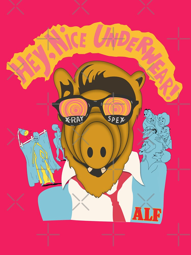TShirtGifter presents: Lord help us, he's back in his pink Alf shirt | Women's T-Shirt