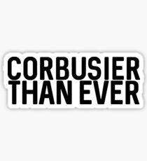 Corbusier Sticker