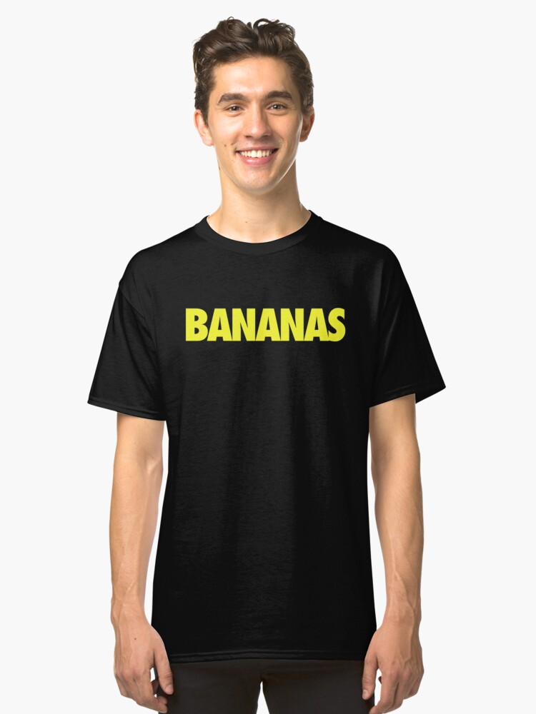 BANANAS Classic T-Shirt Front