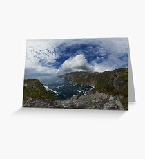 Bunglas - Highest Sea Cliffs in Europe? Greeting Card