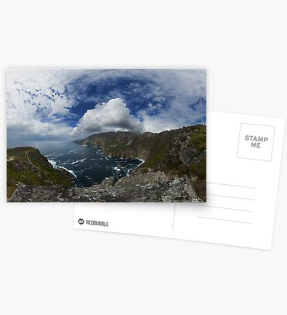 Bunglas - Highest Sea Cliffs in Europe? Greeting Card