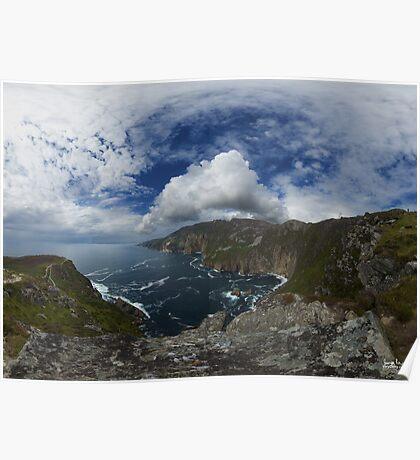Bunglas - Highest Sea Cliffs in Europe? Poster