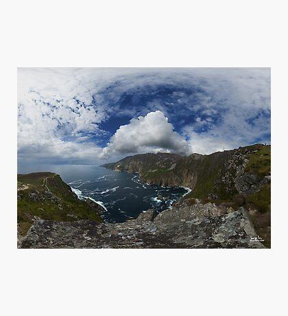 Bunglas - Highest Sea Cliffs in Europe? Photographic Print