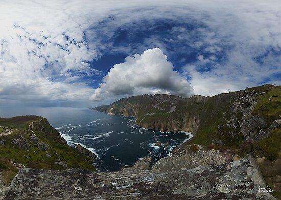 Bunglas - Highest Sea Cliffs in Europe? by George Row