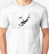 BBMF Spitfire and Lancaster T-Shirt