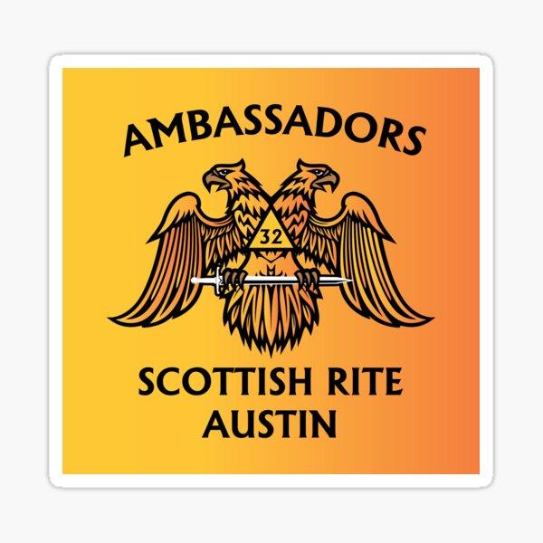 Austin Scottish Rite - ambassadors Sticker