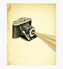 It's a Colourful World Photographic Print