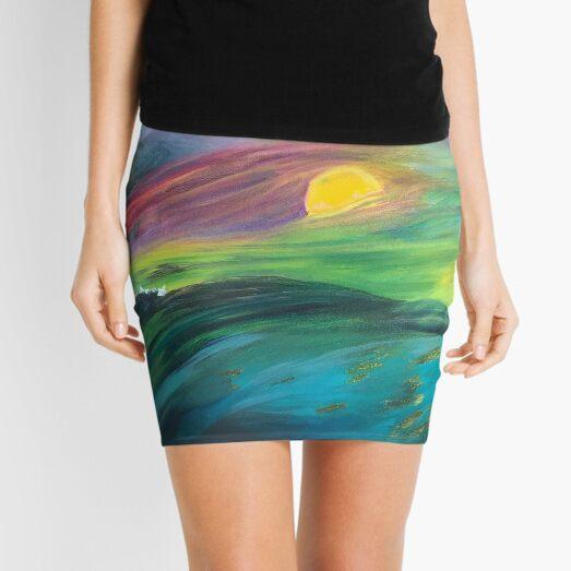 Ocean Dream Mini Skirt