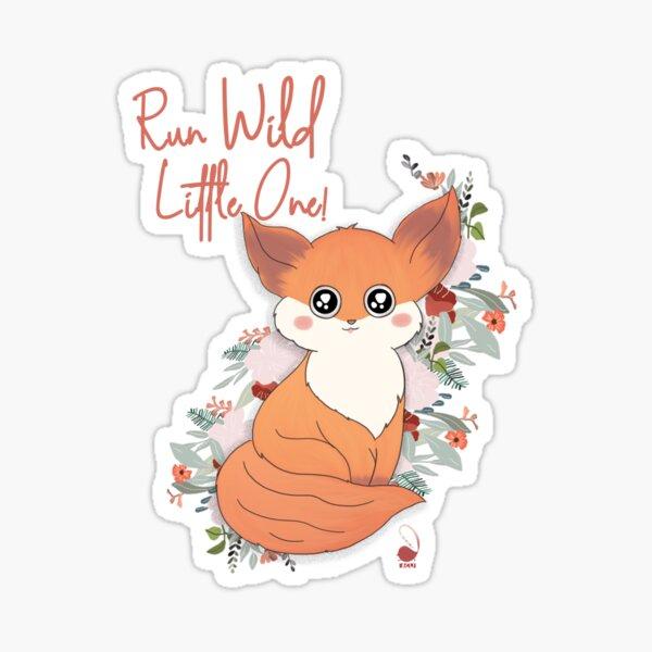 Run Wild- ACU Sticker