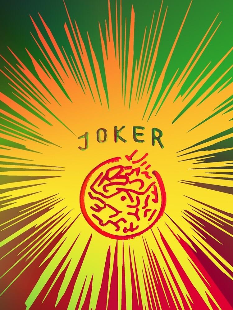 Yellow joker burst by johndavis71