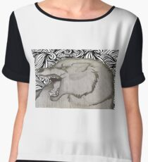 The wolfpack Chiffon Top