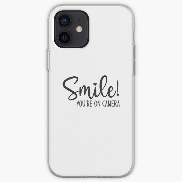 Smile You're On Camera, doormat iPhone Soft Case