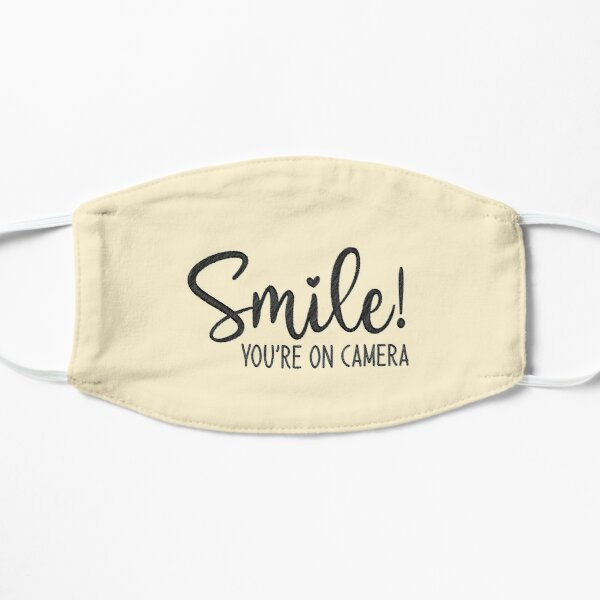 Smile You're On Camera, doormat Flat Mask