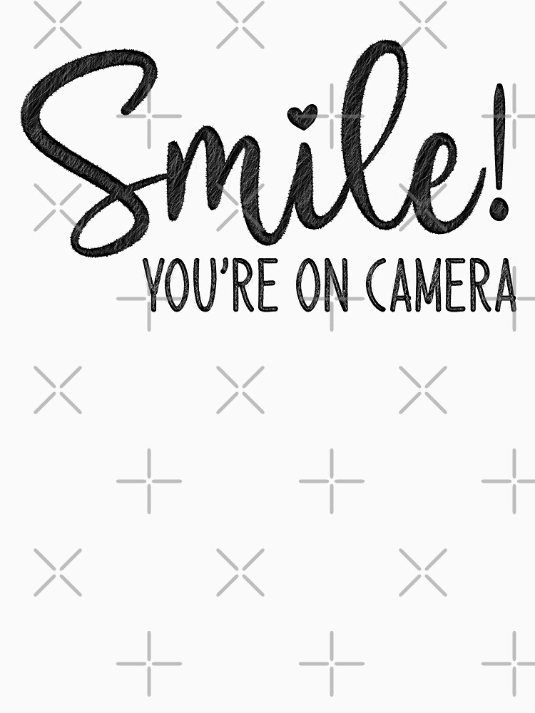 Smile You're On Camera, doormat by amestr-store