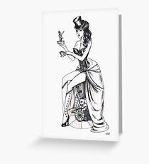 Burlesque circus Greeting Card