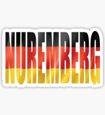 Nuremberg. Sticker