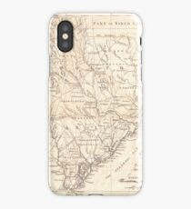 Vintage Map of South Carolina (1779) iPhone Case