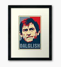 Kenny Dalglish - Hope Poster Framed Print