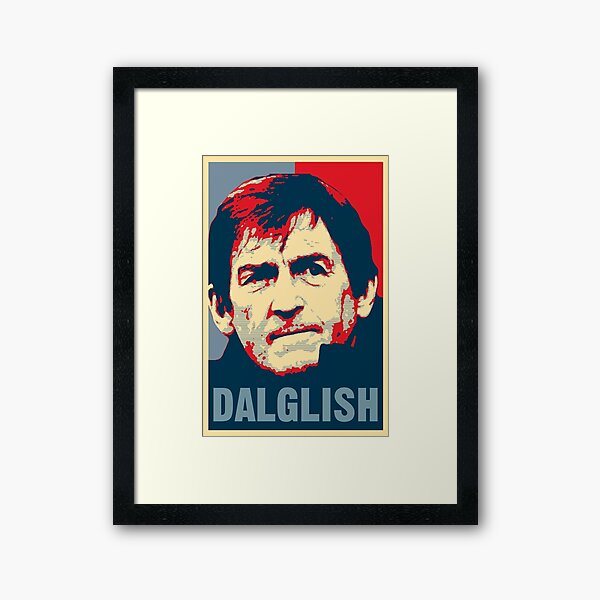 Kenny Dalglish - Hope Poster Framed Art Print
