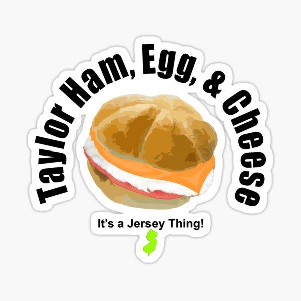 Taylor Ham (light) Sticker