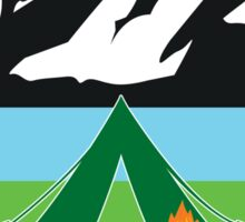 ROCKY MOUNTAIN NATIONAL PARK I LOVE THIS PLACE CAMPING MOUNTAINS LAKE TENT Sticker