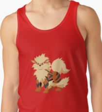 Arcanine Pokemon Simple No Borders Tank Top