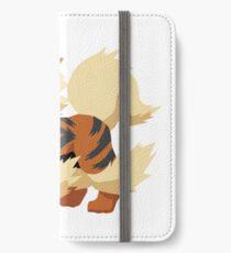 Arcanine Pokemon Simple No Borders iPhone Wallet/Case/Skin
