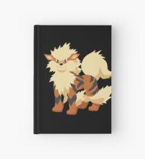 Cuaderno de tapa dura Arcanine Pokemon Simple No Borders
