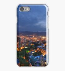 Medellin Colombia at Night iPhone Case/Skin
