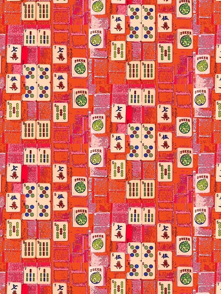 Number 5 Mahjong Tiles by johndavis71