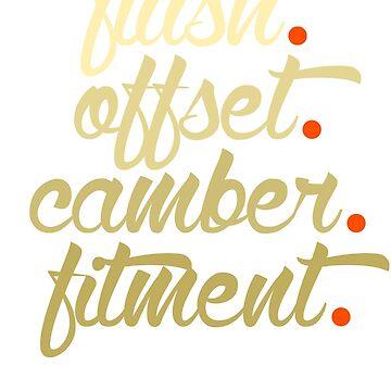 flush offset camber fitment (6) by PlanDesigner