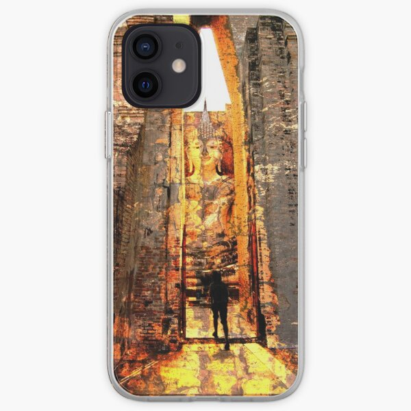 Buddha Sunrise Sri Chum Temple iPhone Soft Case
