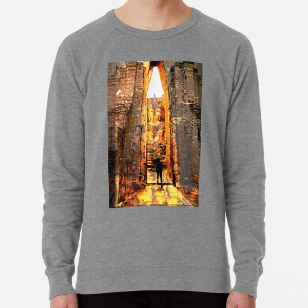 Buddha Sunrise Sri Chum Temple Lightweight Sweatshirt
