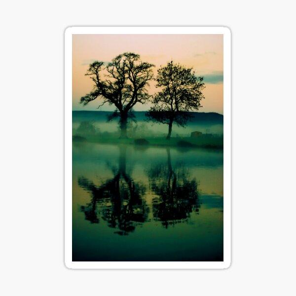 Twilight Lake Sticker