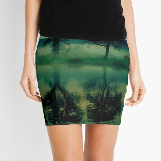 Twilight Lake Mini Skirt