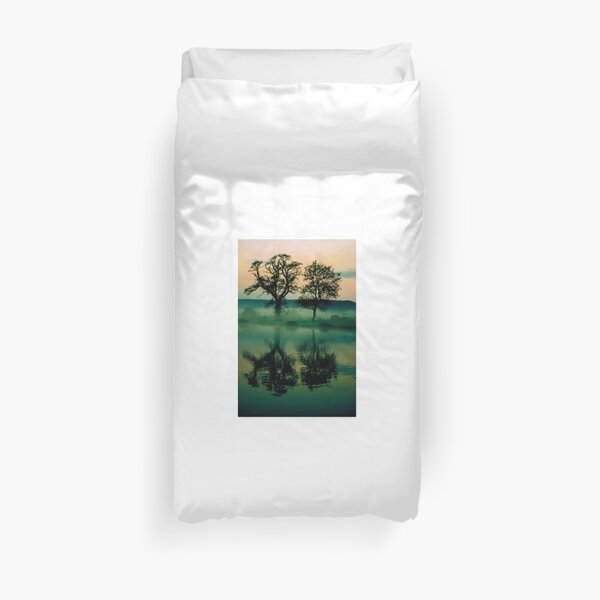 Twilight Lake Duvet Cover