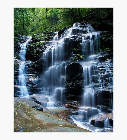 Sylvia Falls, Blue Mountains Photographic Print