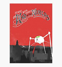The War of the Worlds Poster Photographic Print
