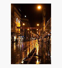 Night at Zagreb Photographic Print