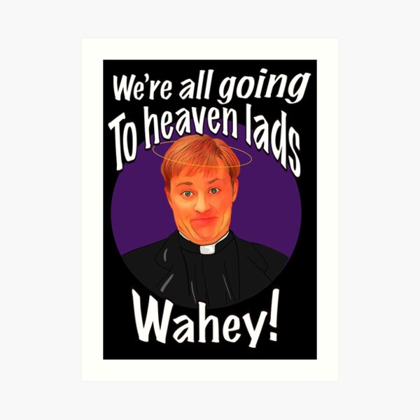 Father ted Dougal Art Print