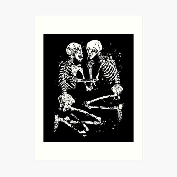lovers of valdaro Art Print