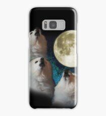 Gabe the Dog - Three Gabe Moon Samsung Galaxy Case/Skin