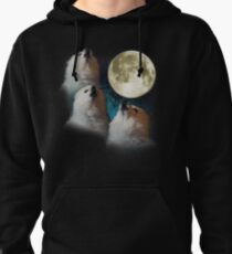 Gabe the Dog - Three Gabe Moon Pullover Hoodie