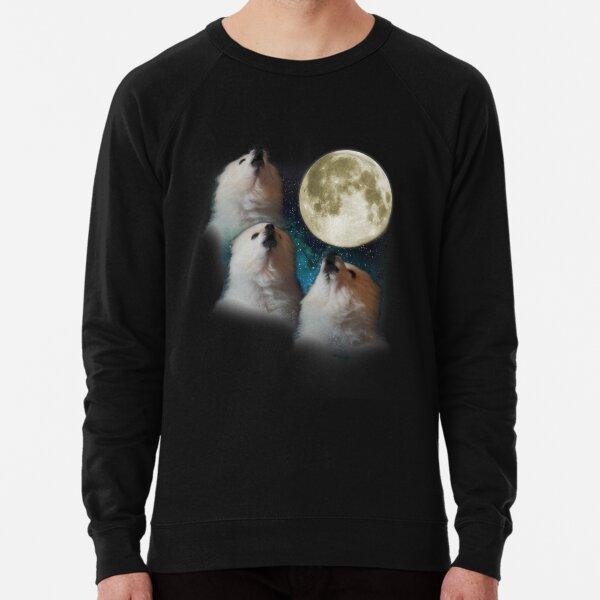 Gabe the Dog - Three Gabe Moon Lightweight Sweatshirt
