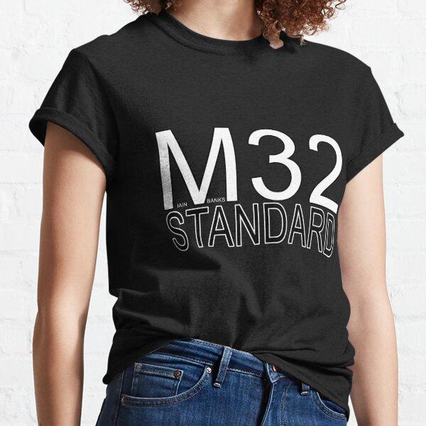 M32 Standard Iain M Banks Culture Machine Encryption  Classic T-Shirt