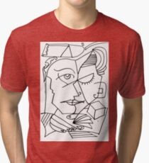 After Picasso B17 Tri-blend T-Shirt